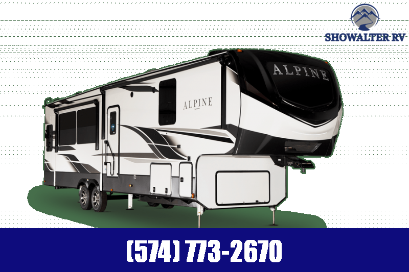 2022 Keystone RV 3650RL Alpine Fifth Wheel Campers