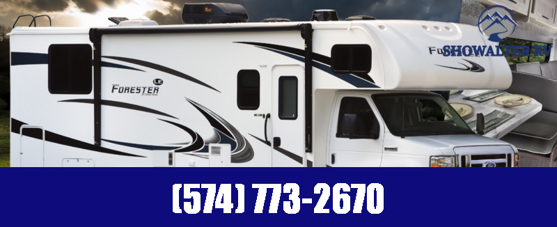 2022 Forest River Forester LE 3251DSLE Class C RV