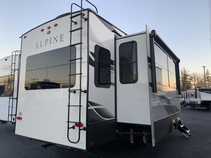 2021 Keystone RV 3120RS Alpine Fifth Wheel Campers