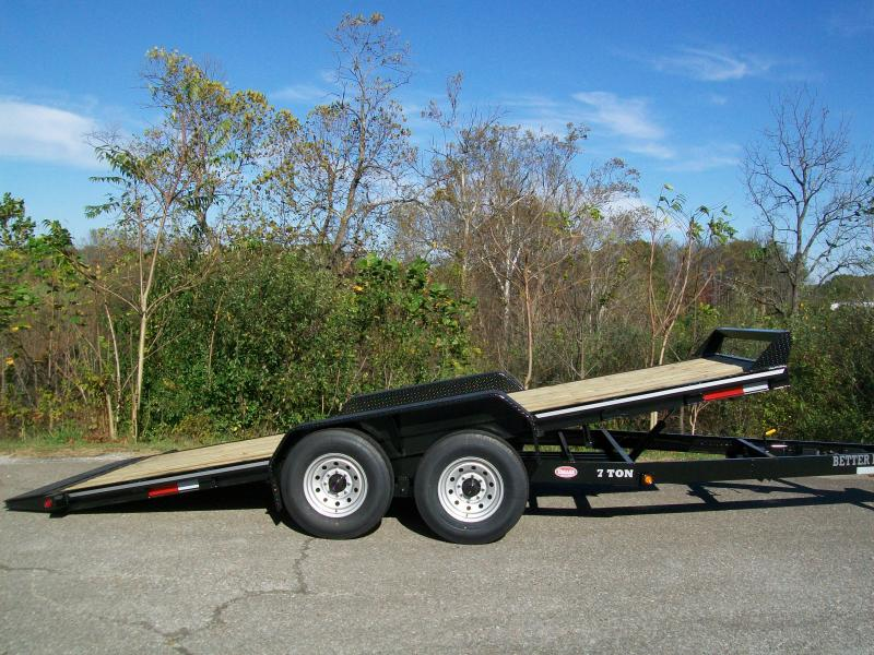 Better Built 82 x 18+1 Full Deck Tilt Equipment Trailer