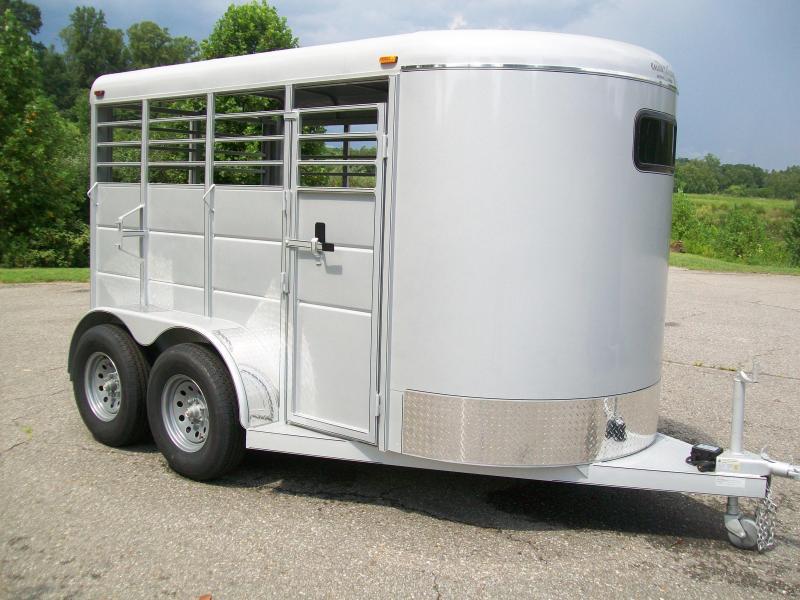 Calico 12' Bumper Pull Livestock Trailer