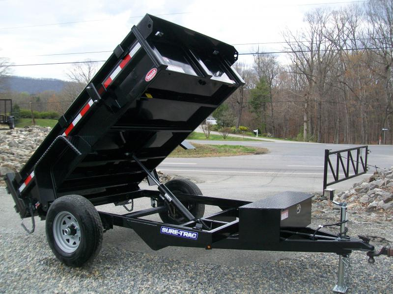 Sure-Trac 62 x 8 Homeowner Dump Trailer