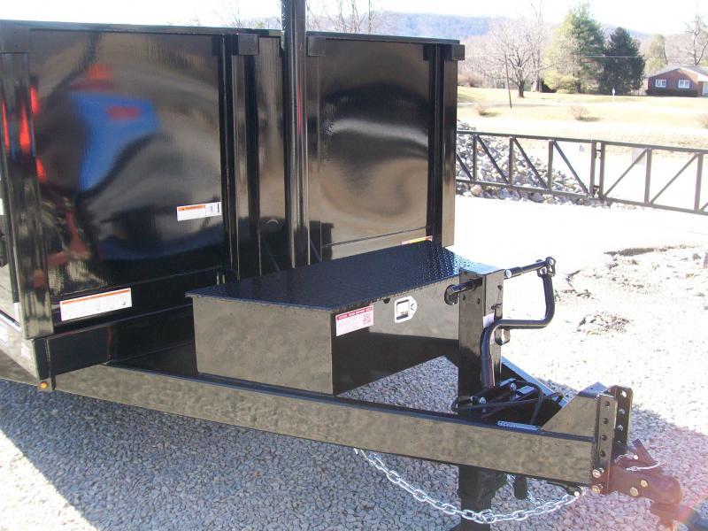 Sure-Trac 82 x 16 14K Telescopic Dump Trailer