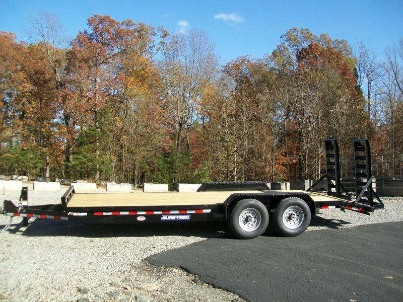 2021 Sure-Trac 82 x 20 14K Equipment Trailer Equipment Trailer
