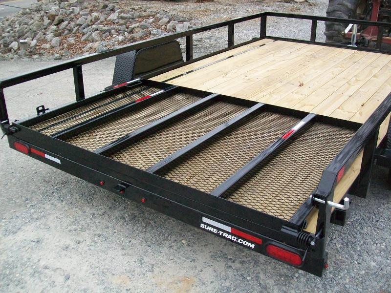 Sure-Trac 6 x 10 Tube Top Utility