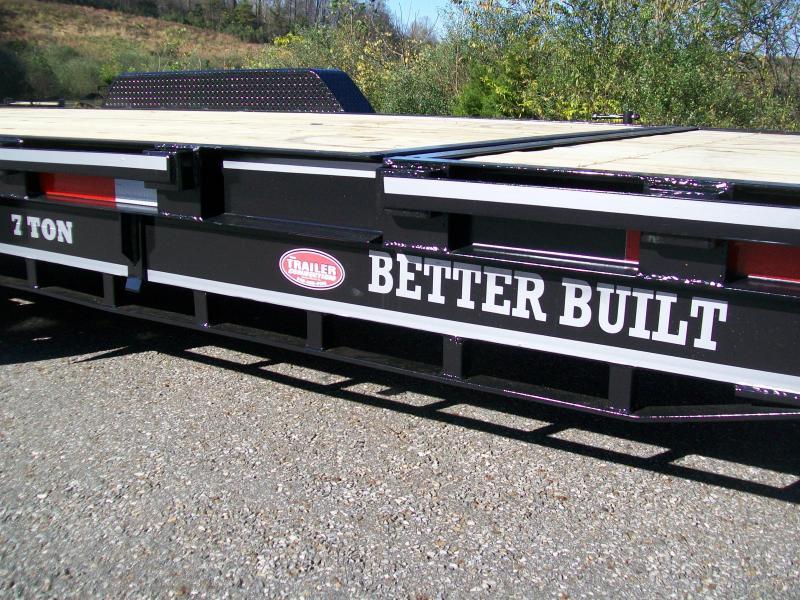 Better Built 21Ft. Partial Tilt Equipment Trailer