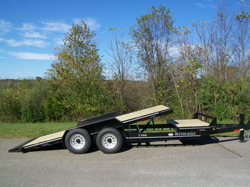 Better Built 21Ft. Partial Tilt Equipment Trailer