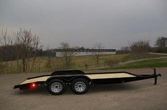 Better Built 82 x 18 7K Equipment / Car Trailer