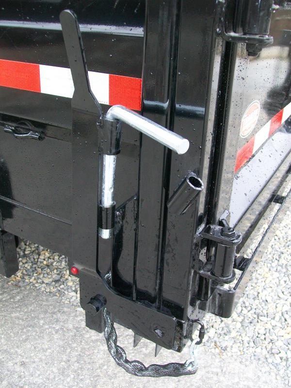 Sure-Trac 82 x 14 14K HD Twin Cylinder Dump Trailer