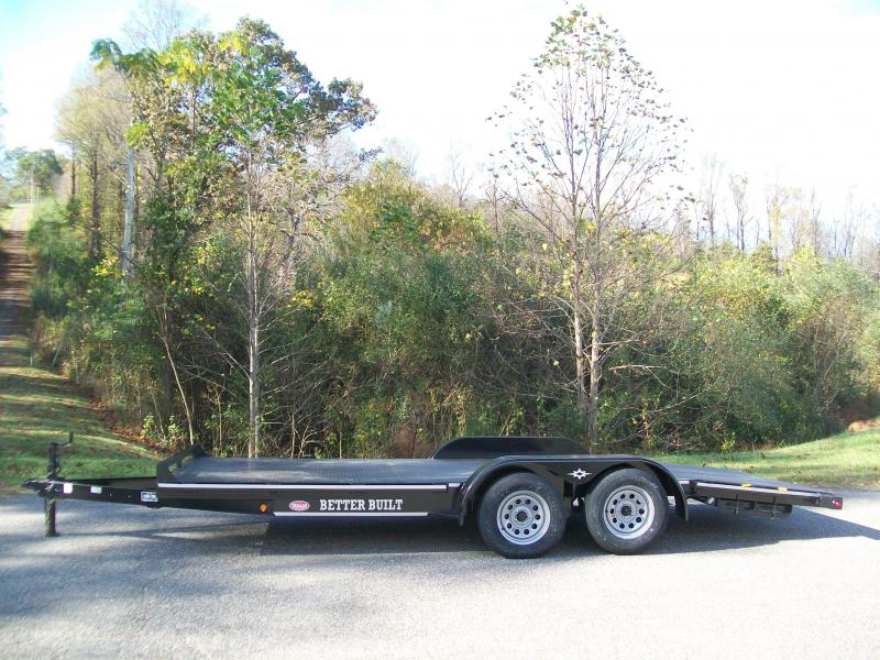 Better Built 18Ft. Solid Floor Car Trailer Car / Racing Trailer