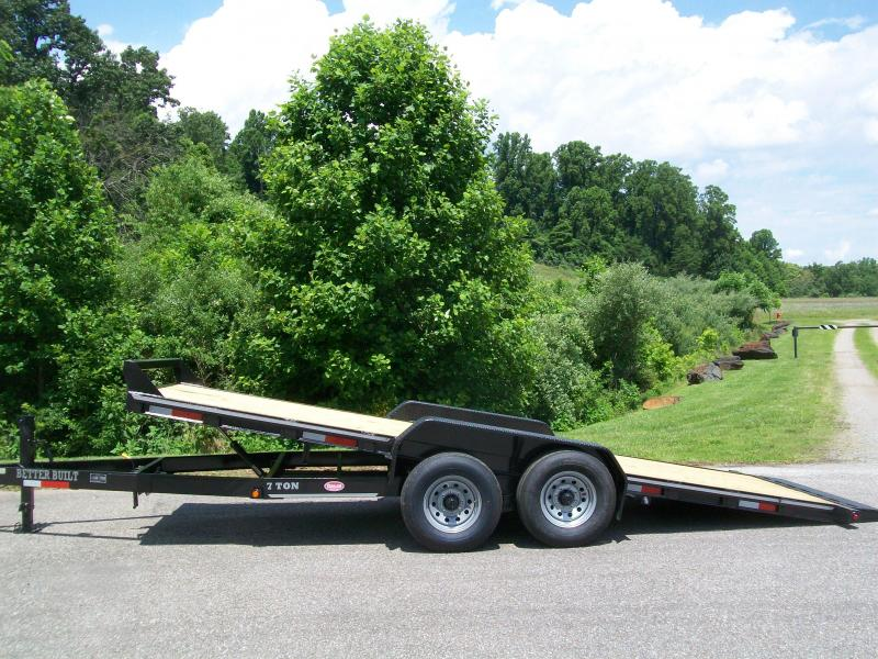 2020 Better Built 82 x 20+1 Full Deck Tilt Equipment Trailer