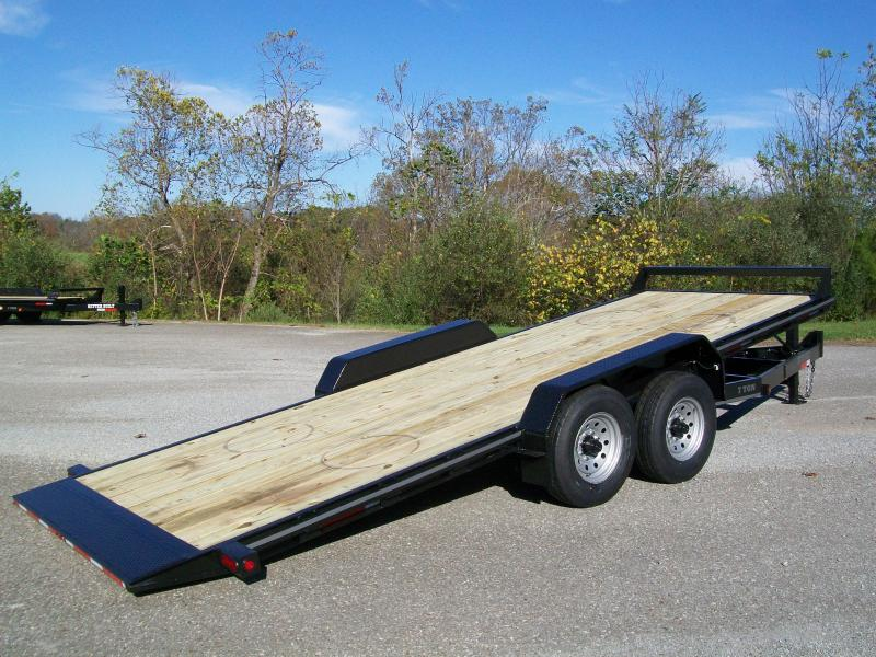 Better Built 82 x 20+1 Full Deck Tilt Equipment Trailer