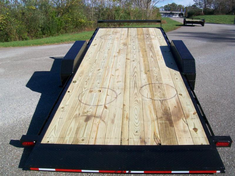 Better Built 82 x 20+1 Full Deck Tilt Equipment Trailer