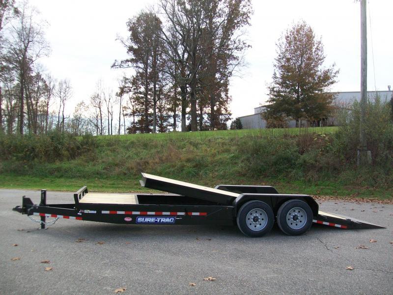 Sure-Trac 22Ft. 16K Partial Tilt Equipment Trailer