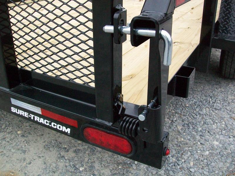 "Sure-Trac 6'9"" x 12 Tube Top Utility Trailer"