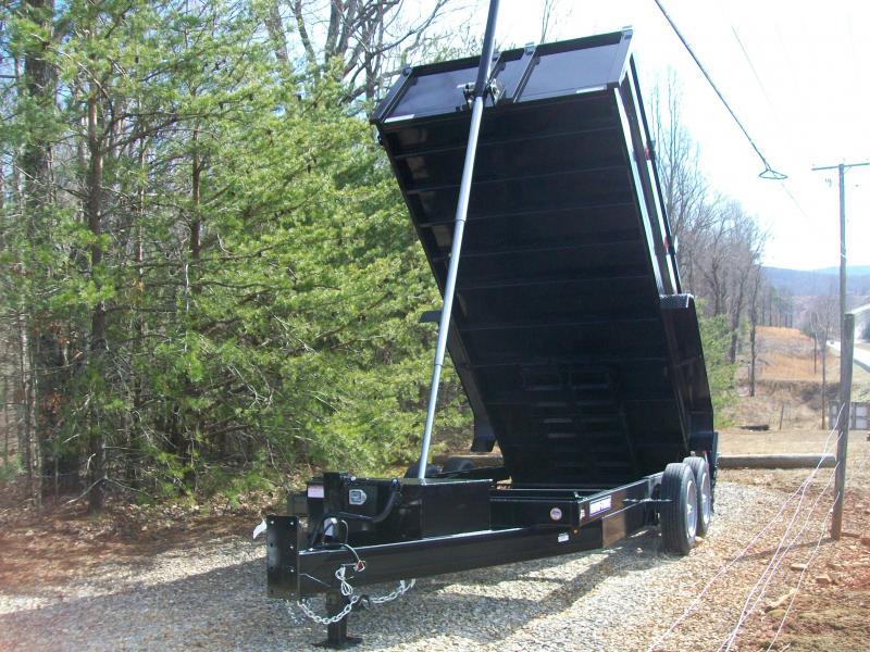 Sure-Trac 82 x 16 16K Telescopic Dump Trailer