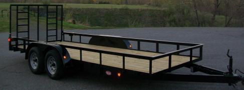 "Better Built 6'10"" x 14 Tandem Landscape Trailer"