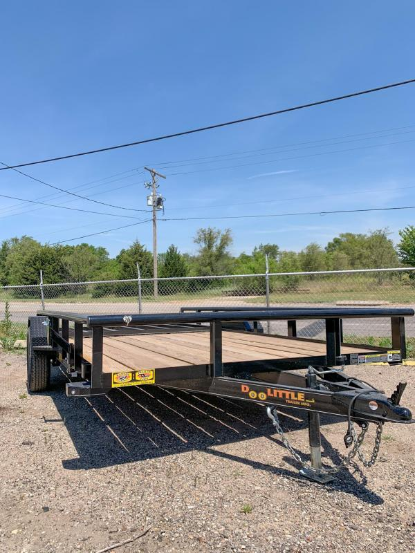 84x14 Doolittle Utility Trailer