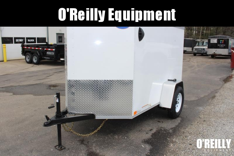 2021 United XLV 5' x 8' Enclosed Trailer - 5' Interior Height Ramp