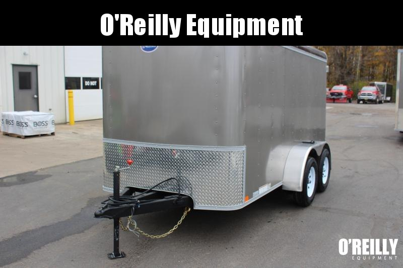 2022 United 6' x 12' Enclosed Trailer - 7000# GVW - Dbl Rear