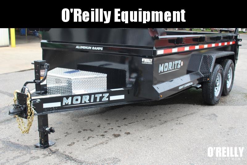 "2021 Moritz 6'10"" x 14' HD Dump Trailer - 14000# GVW"