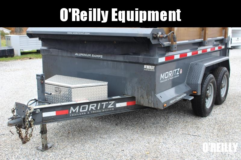 "2019 Moritz International 6 10"" x 10' HD Dump Trailer Used"