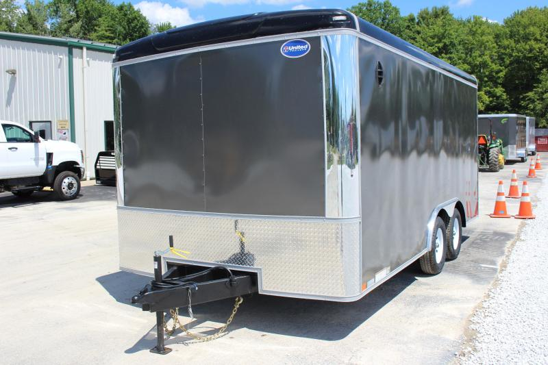 2021 United Trailers ULT 8.5X16 Enclosed Cargo Trailer