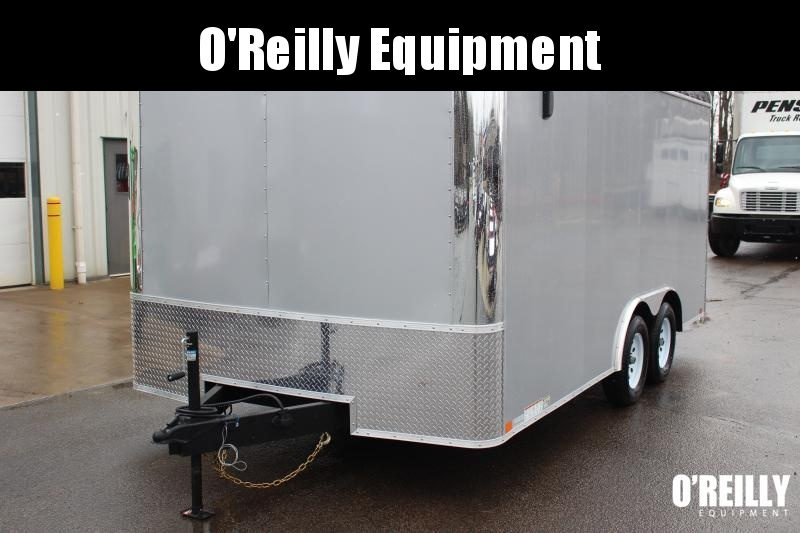 "2021 United ULT 8' 6"" x 16' Car Hauler - 7000# GVW -Ramp"
