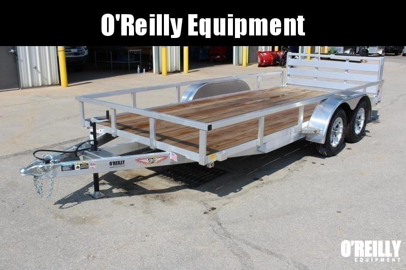 """2021 H and H Trailer 82"""" x 16' Utility Trailer"""