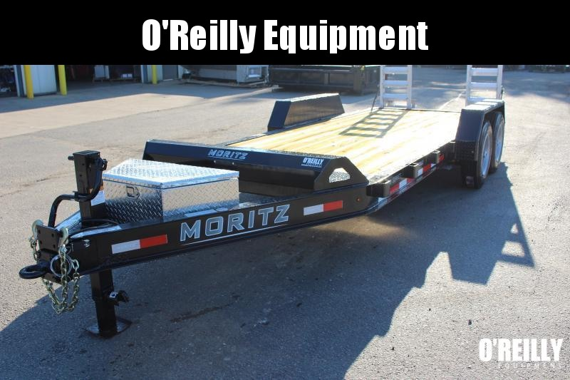 2021 Moritz International 7 x 18 Equipment Trailer