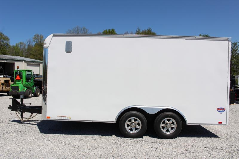 "2022 United UXT 8' 6"" x 16' Enclosed Trailer - 9900# GVW Ramp"