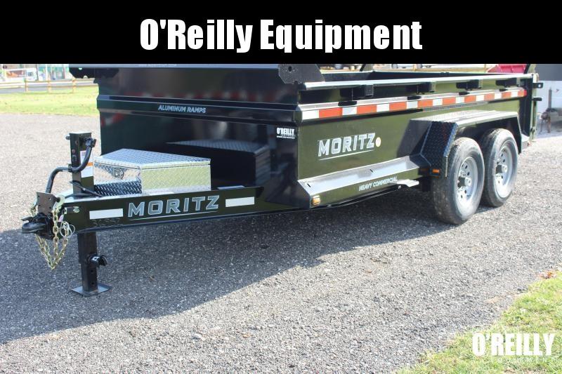 """2021 Moritz International 6'10""""x14 HD Dump-14k -Solar Charger"""