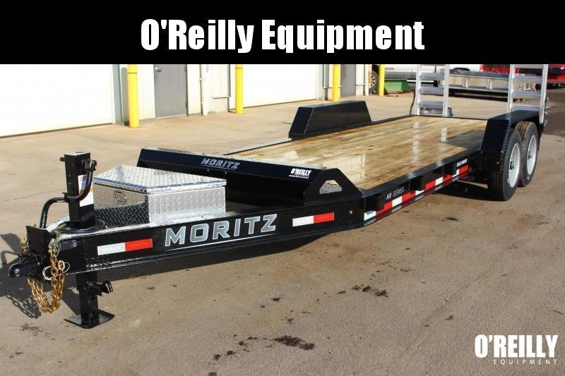 2021 Moritz International 7 x 20 Equipment Trailer
