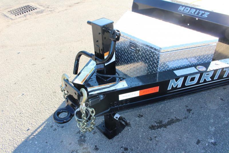 2021 Moritz 7' x 18' Equipment Trailer - 16000# GVW