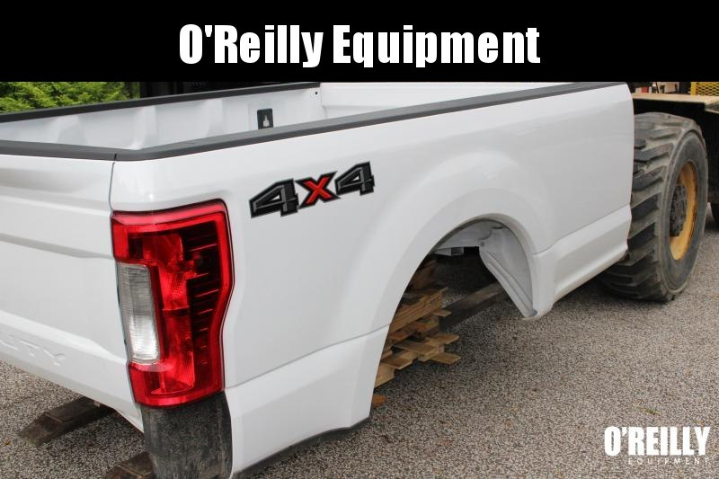 2019 FORD 8' SRW TRUCK BED