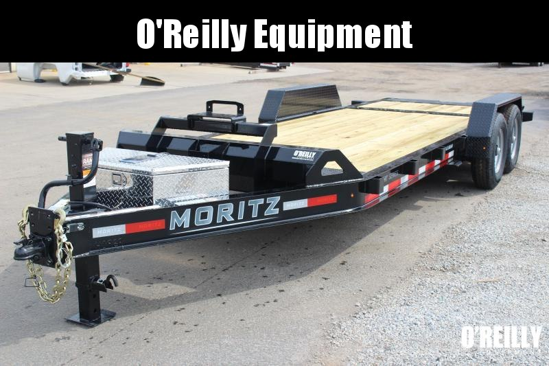 2021 Moritz 7' x 14' + 6' Power Tail Tilt - 14000# GVW solar charger