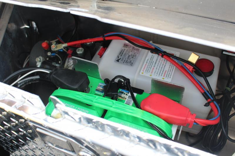 2021 Moritz 7' x 14' + 6' Power Tail Tilt - 14000# GVW solar charger
