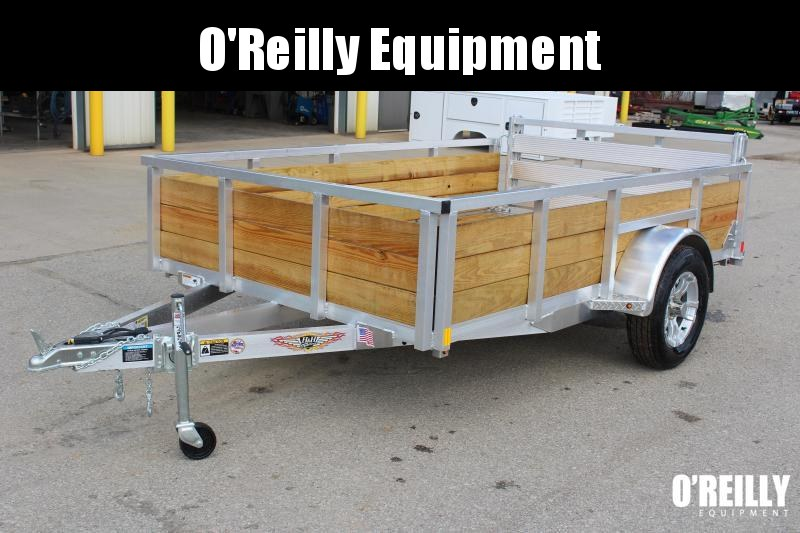 """2020 H and H Trailer 6'4"""" x 10' Utility Trailer"""