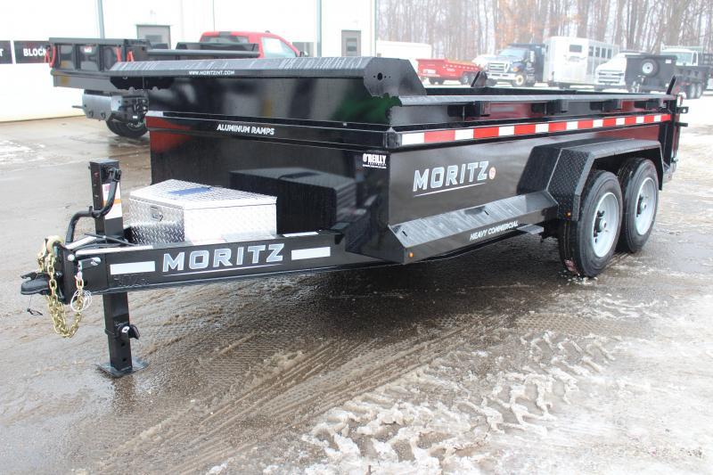 "2021 Moritz 6'10"" x 14' HD Dump Trailer - 16000# GVW"