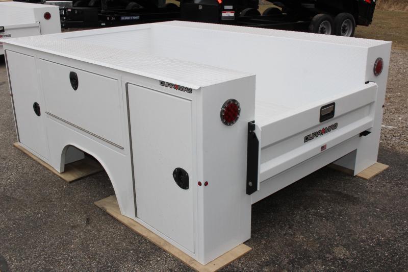2019 Aluminum DuraMag Service Body SRW LONG BED - GM