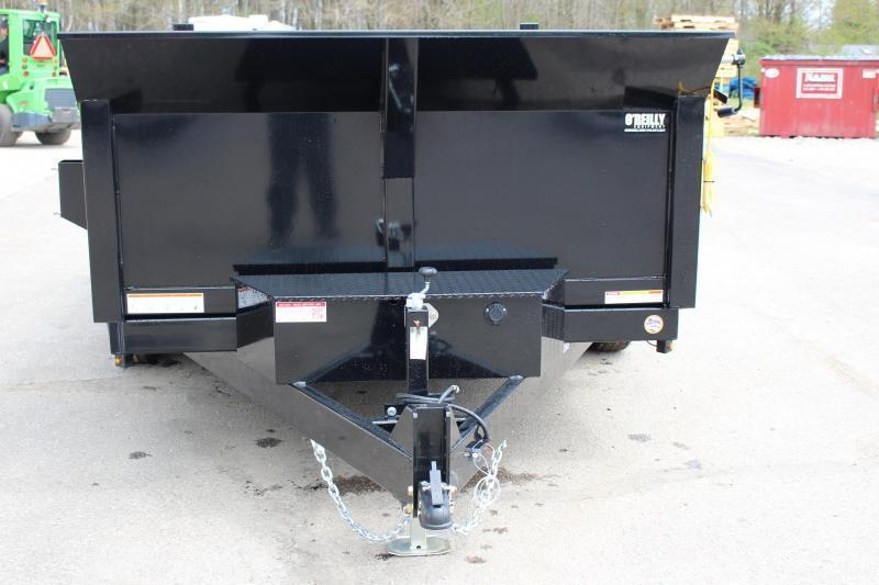 2021 Sure-Trac 7' x 12' Dump Trailer - 12000# GVW