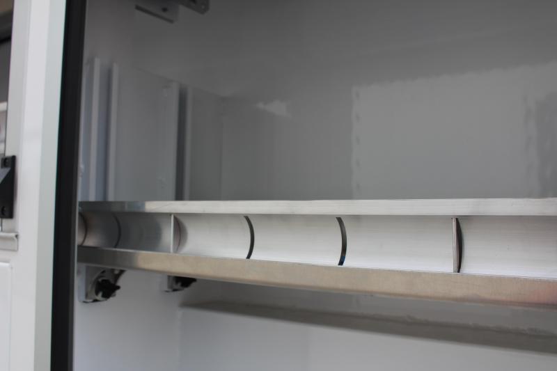 """2022 Aluminum DuraMag Service Body DRW 84"""" CA"""