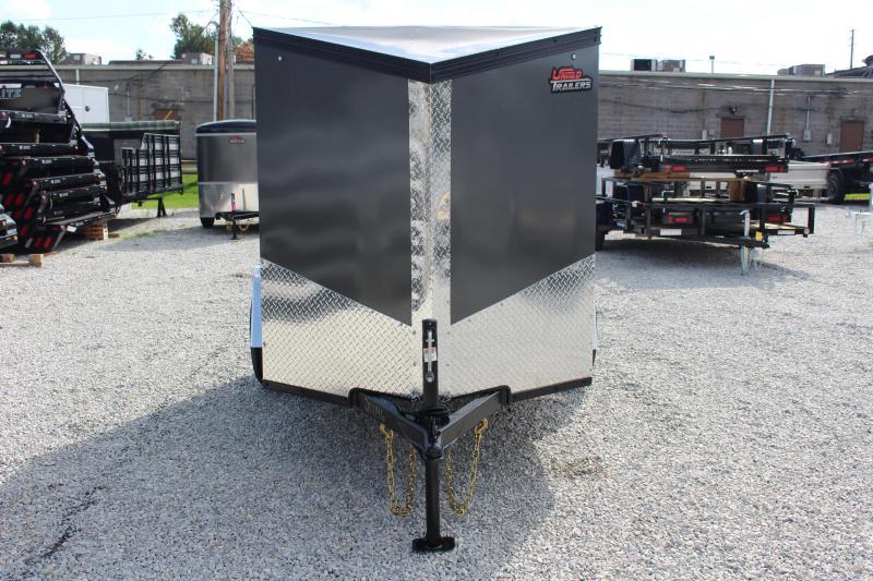 2022 United XLV 5' x 8' Enclosed Trailer - 2990# GVW - Ramp Door