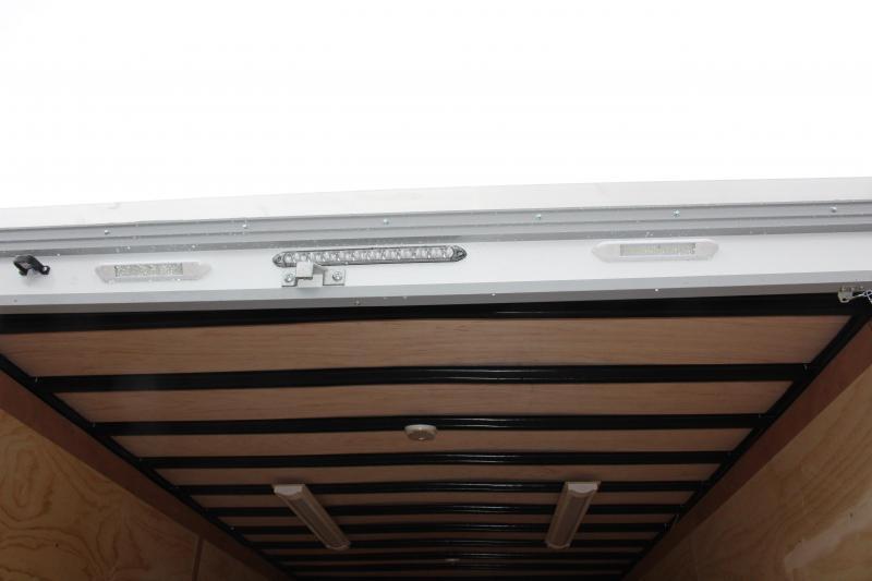 2022 United UXT 8.5' x 16' TOOL CRIB - 6.5' Interior Height - Ramp