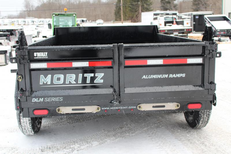 "2021 Moritz 6'10"" x 10' HD Dump Trailer - 12000# GVW"