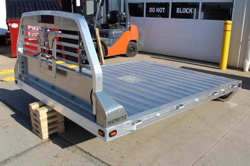 """2021 Moritz TBA8-9.4 - Flat Bed - Aluminum - DRW 60"""" CA"""