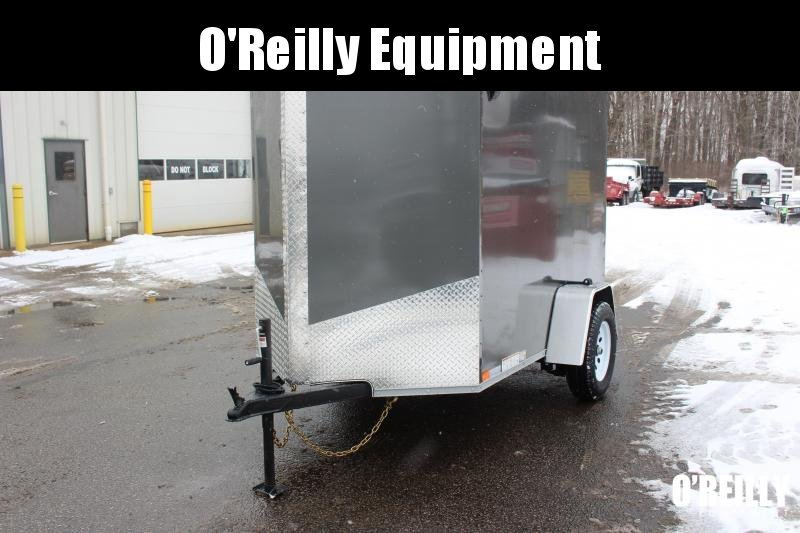 2021 United XLV 5' x 8' Enclosed Trailer - 2990# GVW - Ramp Door