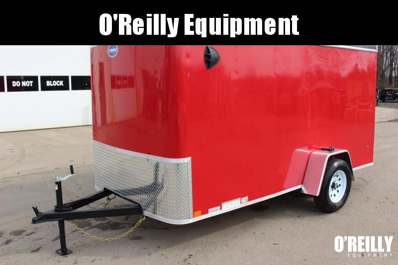 2020 United Trailers ULH 6 x 12 Enclosed Cargo Trailer Used