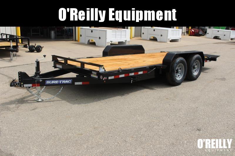 2021 Sure-Trac 7 x 18 Equipment Trailer