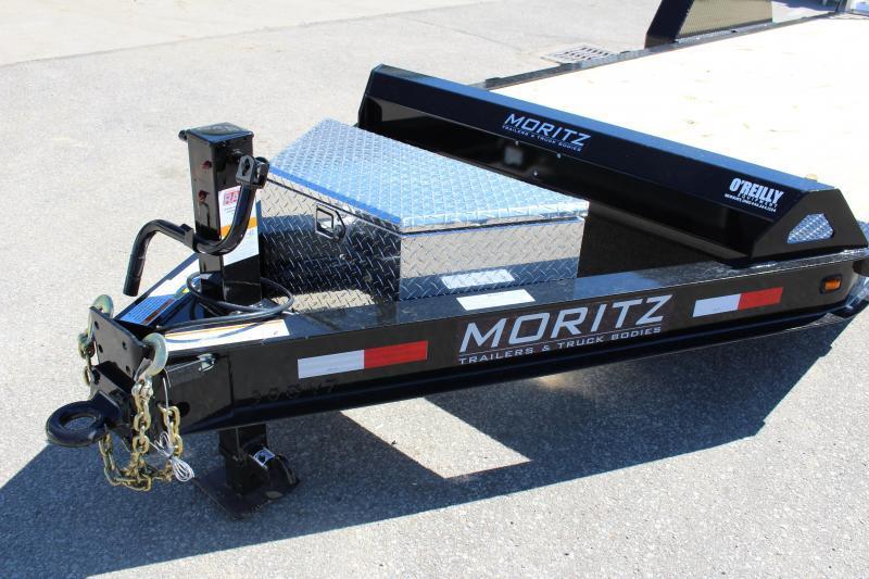 2021 Moritz 7' x 22' Equipment Trailer - 14000# GVW